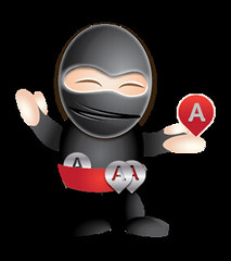 "Gotcha Local Ninja Mascot • <a style=""font-size:0.8em;"" href=""http://www.flickr.com/photos/10555280@N08/7727328282/"" target=""_blank"">View on Flickr</a>"