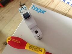 Hager MCB (Miniature circuit breaker)