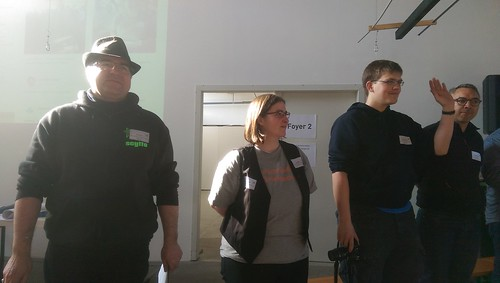 Start ins BarCamp - Orga-Team