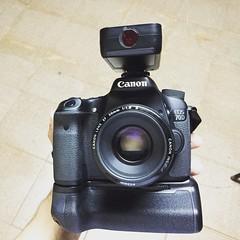 Minha pequena canon 70d montada