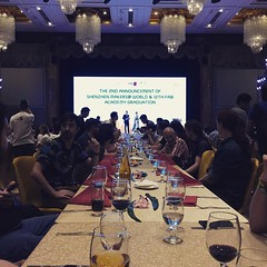 Graduation banquet @Fabfndn #shenzhen #Fab12