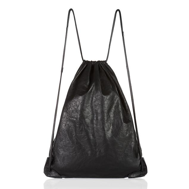alexander wang mens accessories calfskin gym sack ss 12