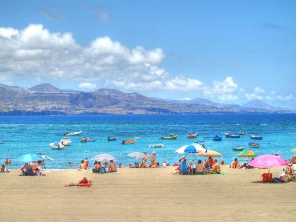 Canary Islands beaches, Playa de Las Canteras