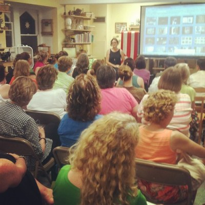 Denyse Schmidt lecture with Philly Modern Quilt Guild