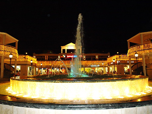 Dancing Fountain, Safari Centre, Playa de Las Américas