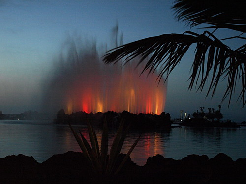 Fountain, Lago Martianez, Puerto de la Cruz