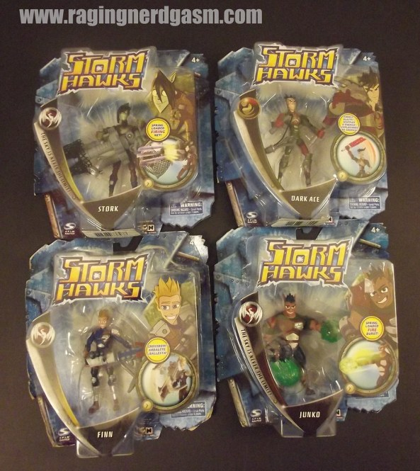 "Storm Hawks 3"" Action Figures"