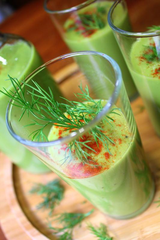 avocado - pear soup