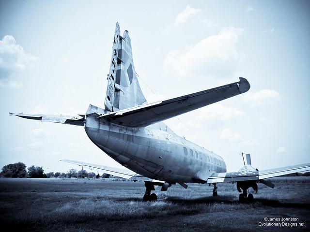 abandoned 404 martin passenger plane found near paris tx james johnston. Black Bedroom Furniture Sets. Home Design Ideas