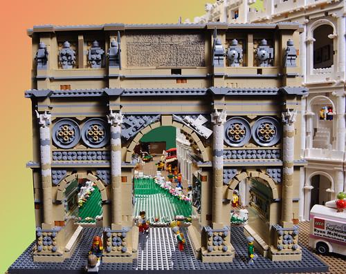 LEGO Constantines arch