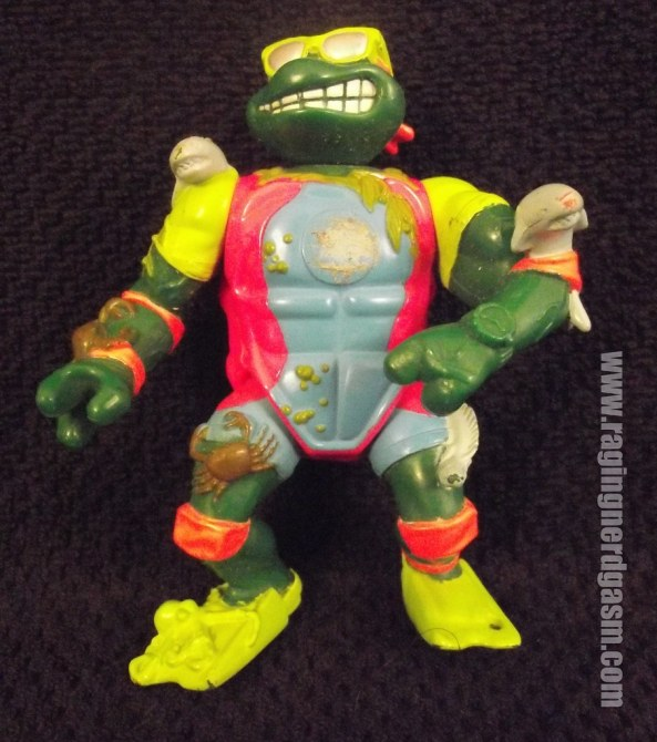 Scuba Diving Michelangelo from Teenage Mutant Ninja Turtles by Playmates