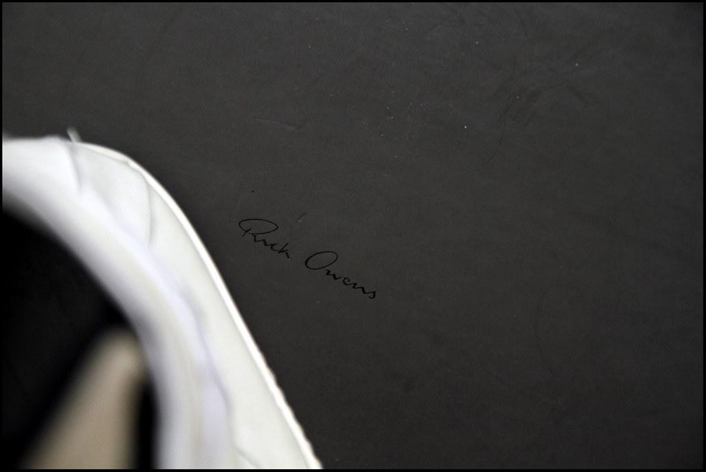 Tuukka13 - Sneak Preview - My New Rick Owens High Top Sneakers in White - 1