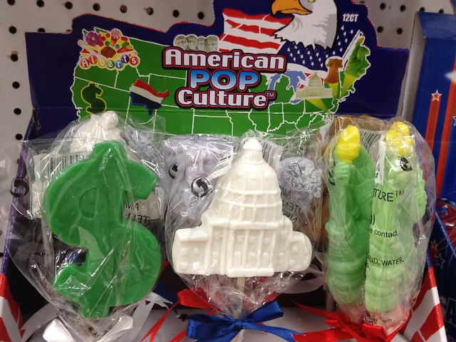 Fourth of July & Summer Products: American Pop Culture Lollipops