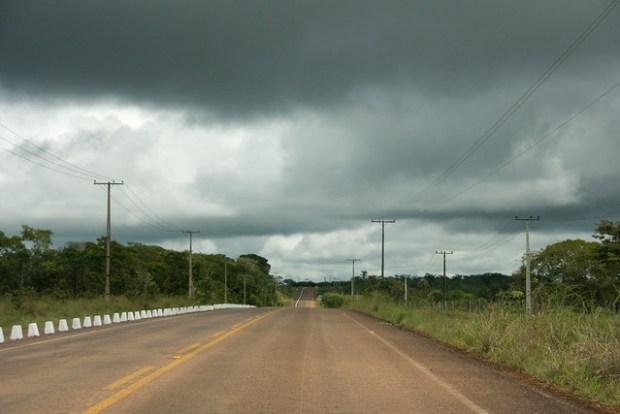 Estrada para Chapada
