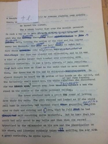 """""""Fahrenheit 451"""" Original Manuscript"""