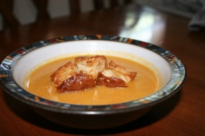 Cardamom and Cumin Spiced Cauliflower Soup