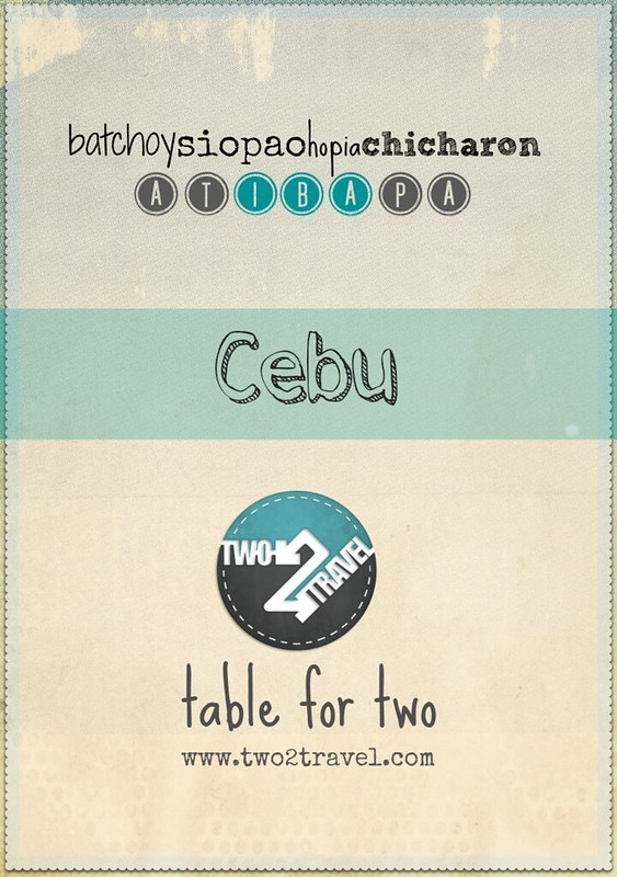 TWO2TRAVEL | Table for Two | Cebu