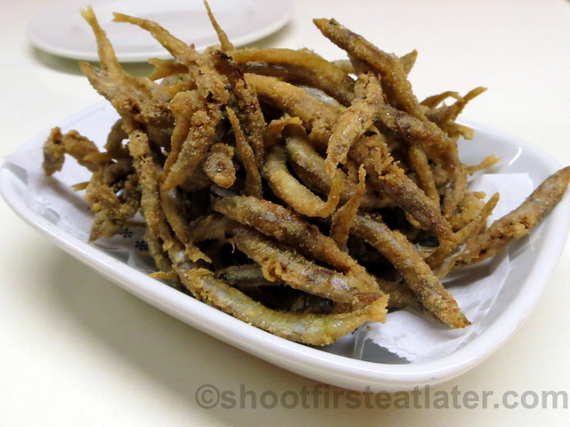 Tapas 24 - Fried Anchovies €7.50