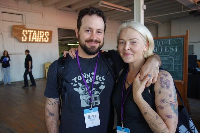 Derek Powazek & Heather Champ