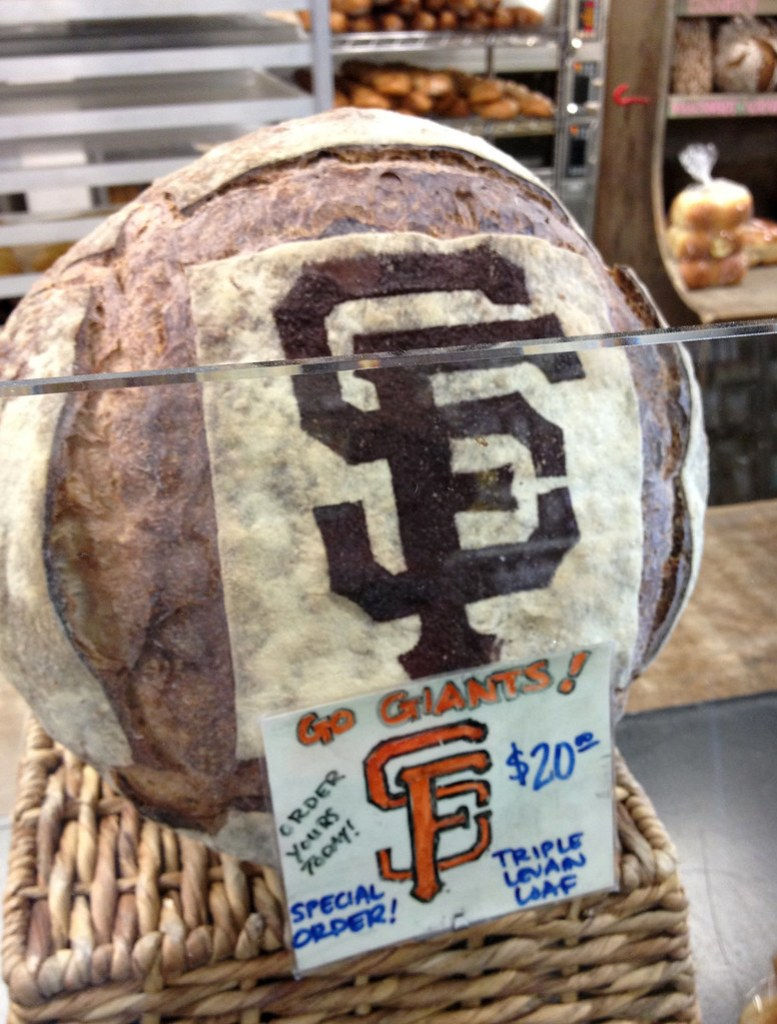 SF Giants Triple Levain Loaf