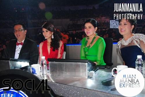 TV5 Artista Academy panel of mentors.