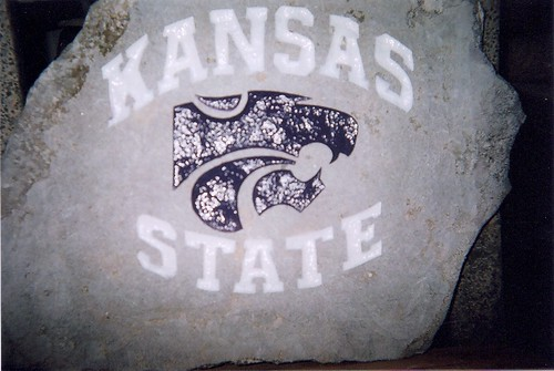 Kansas State Engraved Rock