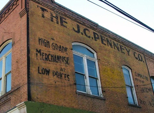 J.C. Penney Co. Ghost Sign