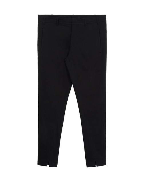 ANN DEMEULEMEESTER Casual trouser - Collection- Autumn-Winter 12 - Gabardine wool