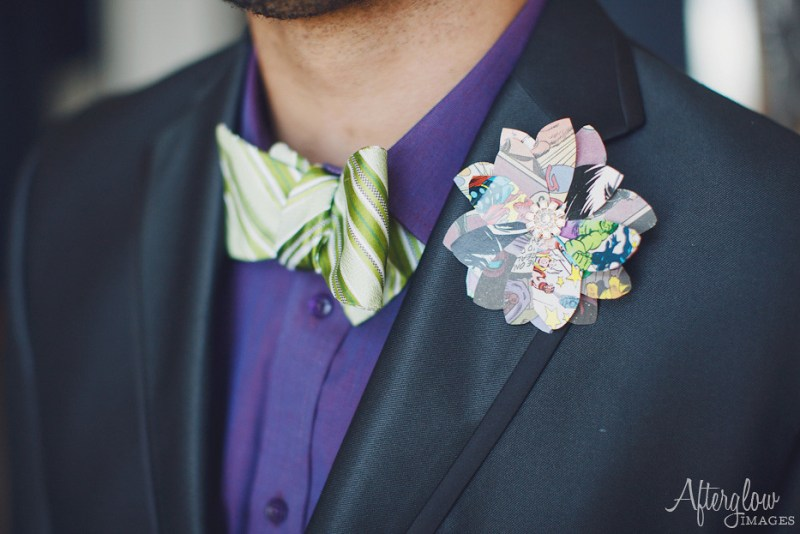 Homemade boutonniere