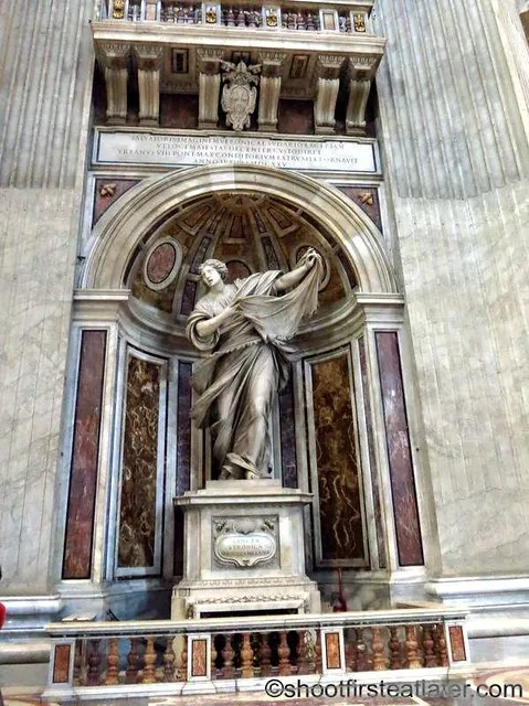St. Peter's Basilica- St. Veronica Statue