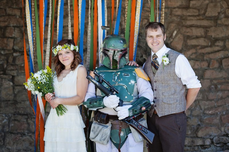 Formals with Boba Fett