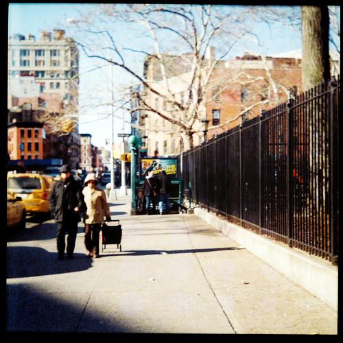 East Broadway Stroll (Lomo)