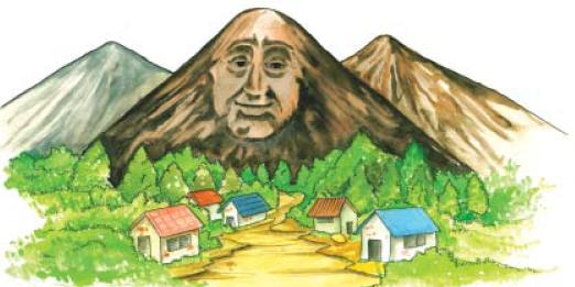 NCERT Class VIII English Chapter 10 The Great Stone Face II Image by AglaSem