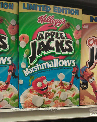 Limited Edition Kellogg's Apple Jacks with Marshmallows
