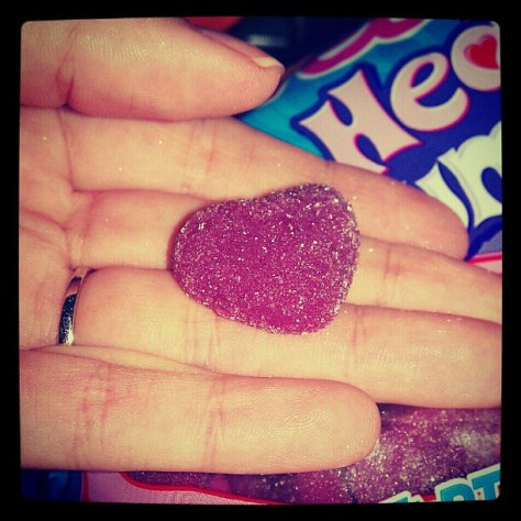 #heart #candy #sweettarts #FMSPhotoADay