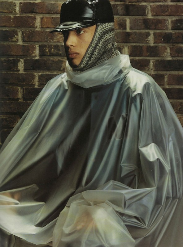 Raf Simons Redux  Autumn-Winter 2002-2003 (Manu backstage). 2002126-02, Steven Klein, 2002.