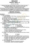 ICSE Class X Exam Question Papers 2012 Biology (Science Paper-3)
