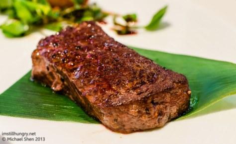 Ocean Room wagyu beef steak