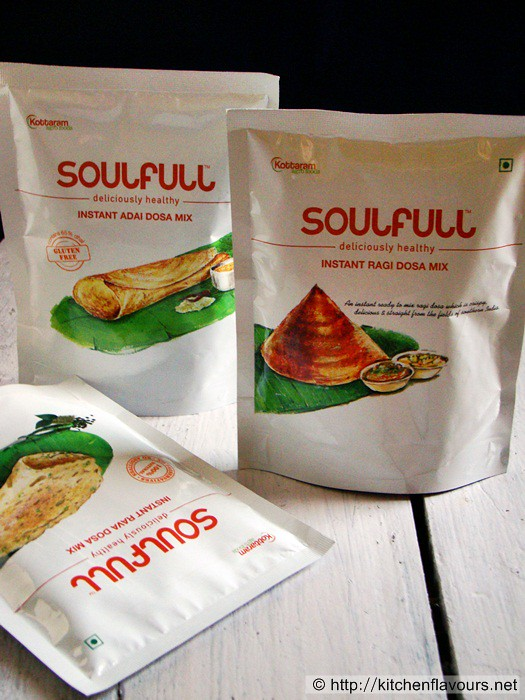 Product Review - Soulfull Insant Dosa Mixes