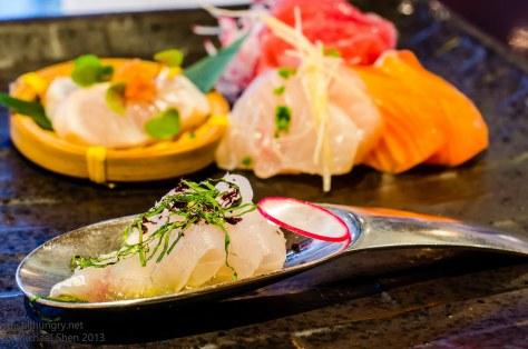 Ocean Room sashimi