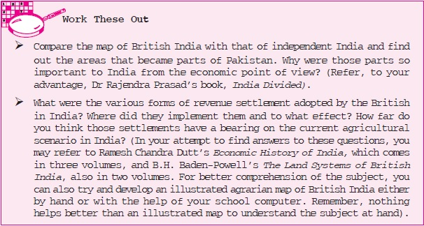 NCERT Class XI Economics: Chapter 1 – Indian Economy on the Eve of Independence Image by AglaSem
