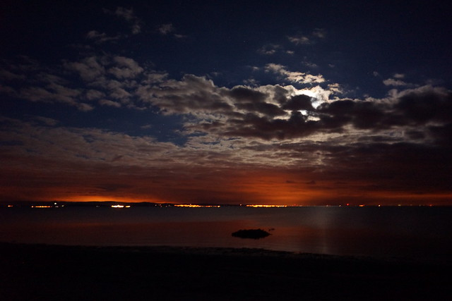 Moonrise on Arran