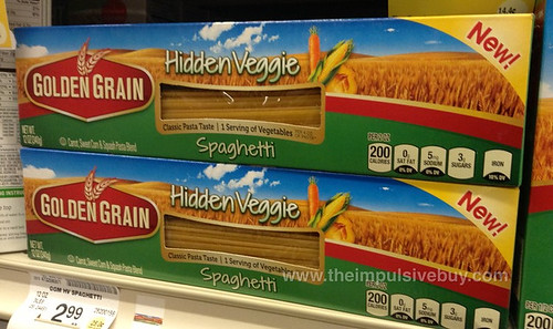 Golden Grain Hidden Veggie Spaghetti