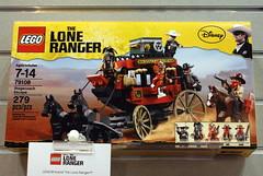 LEGO Lone Ranger set