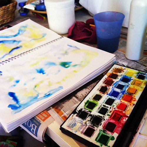 """""""Style"""": Art Journal - Stage 1"""