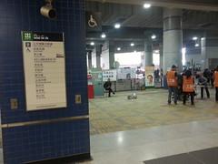 大圍站經 B出口 到達 公共運輸交匯處