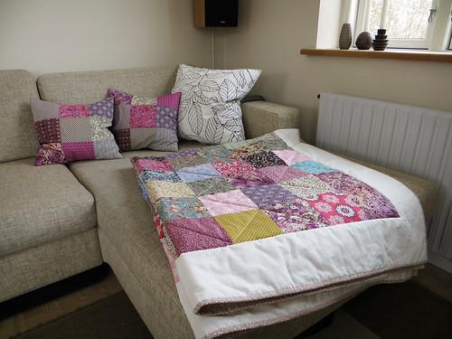 Scandinavian style quilt
