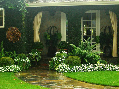 Ideas de jardines para casas peque as blogicasa blogicasa for Jardines pequenos de entrada