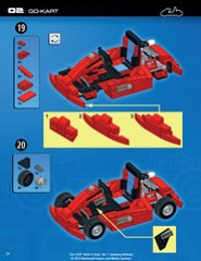 The LEGO Build-it Book, Vol. 1: Amazing Vehicles (p. 34)
