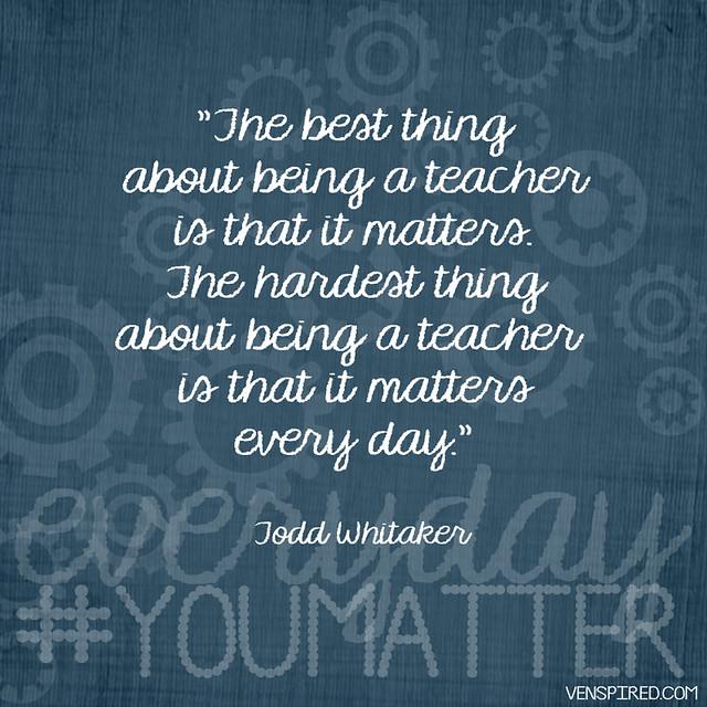 Teaching Matters Everyday